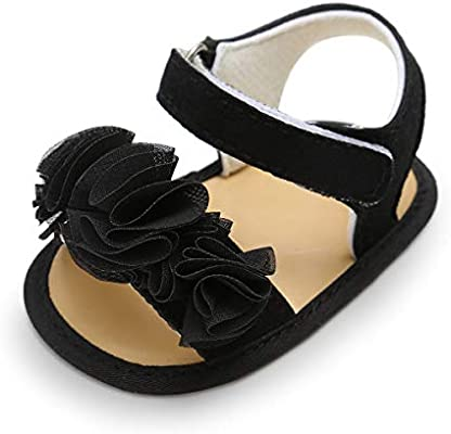 ENERCAKE Baby Girls Sandals Flower Summer Shoes Soft Sole