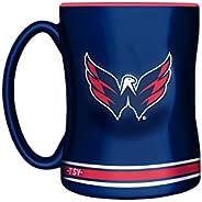 NHL Washington Capitals Sculpted Mug, 14-Ounce
