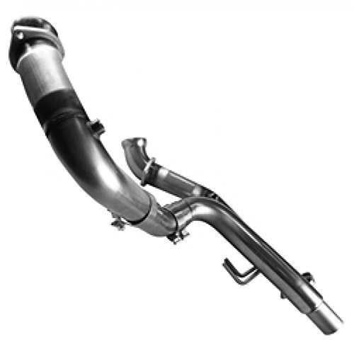 Catted Pipes Connection (Kooks Custom Headers 28523100 Off Road Connection Pipes 3 in. OEM Stainless Steel Non-Catted w/OEM Outlet For Use w/Stock Dual Exhaust Must Be Used w/Kooks Headers Off Road Connection Pipes)
