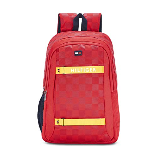 Tommy Hilfiger 15 inch Red Laptop Backpack  TH/CARQ04/LAP