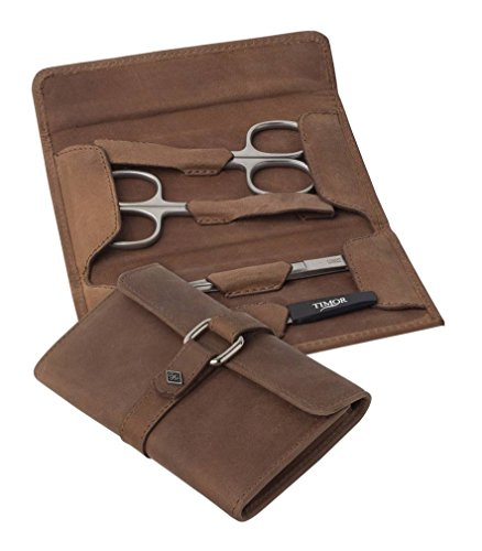 Brown/Silver 4 Piece Manicure Set by Orton West by Orton West