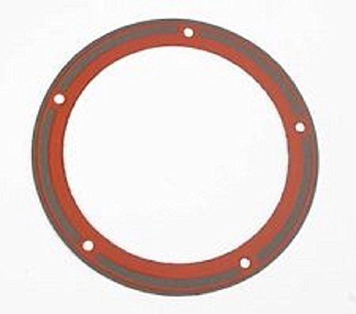 Orange Cycle Parts Clutch Derby Cover 5 hole Gasket Foamet w/Bead Sold Each JGI-25416-99-F for Harley Twin Cam 1999-2006 by James Gasket