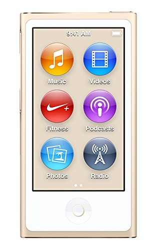Apple iPod Nano, 16GB, Gold (7th Generation)