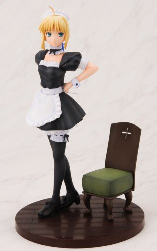 - Fate / Hollow Ataraxia Saber Delusion Beautiful Maid Version 1/8 Scale Figure