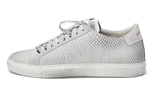 Antony Morato Mmfw00918-le300047, Sneaker Uomo Bianco