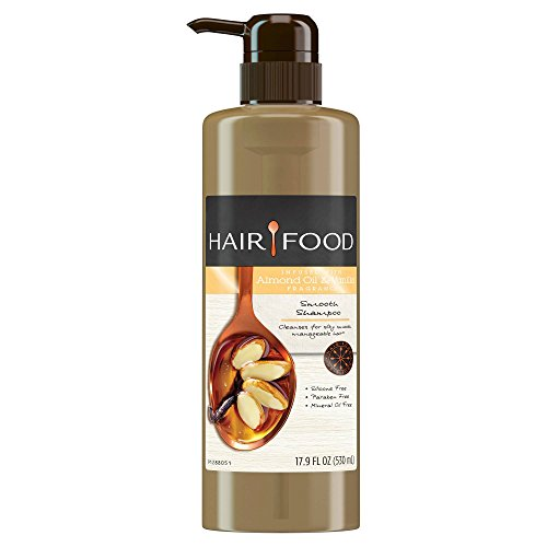 Hair Food Almond Oil & Vanilla Smooth Shampoo 17.9 fl oz, pack of 1