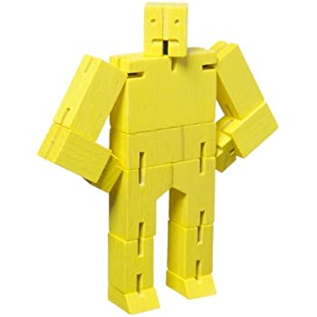 Micro Cubebot Brain Teaser Puzzle, Yellow