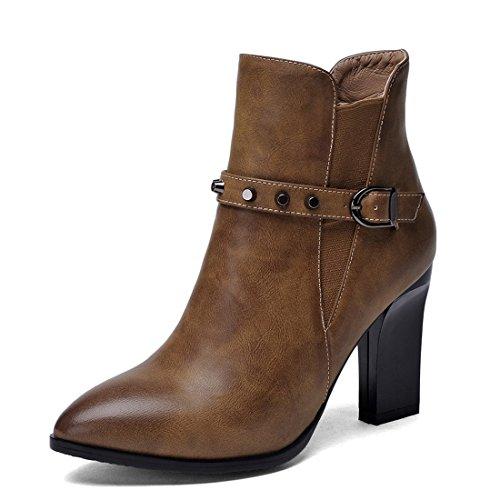 YL Boots Women's khaki Women's YL Boots black O5v1qww