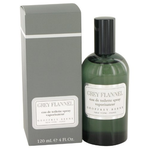 GREY FLANNEL by Geoffrey Beene Eau De Toilette Spray 4 oz for Men - 100% Authentic - Grey Flannel Rose Eau De Toilette