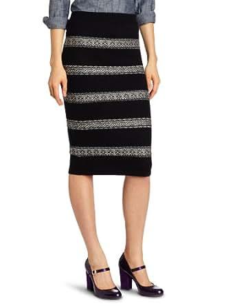 BB Dakota Women's Thane Sweater Skirt, Black, X-Small