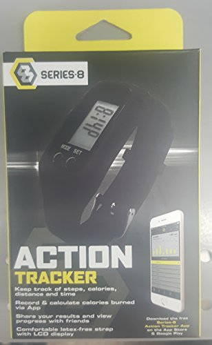 Series 8 Fitness Action Tracker (Black)