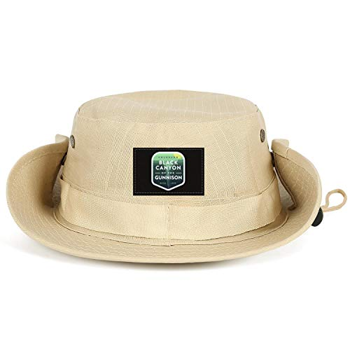 GONLFGKDSTY Black Canyon of The Gunnison National Park Unisex Mens Fishing Hats Hiking Breathable Hunting Caps (Fishing The Black Canyon Of The Gunnison)