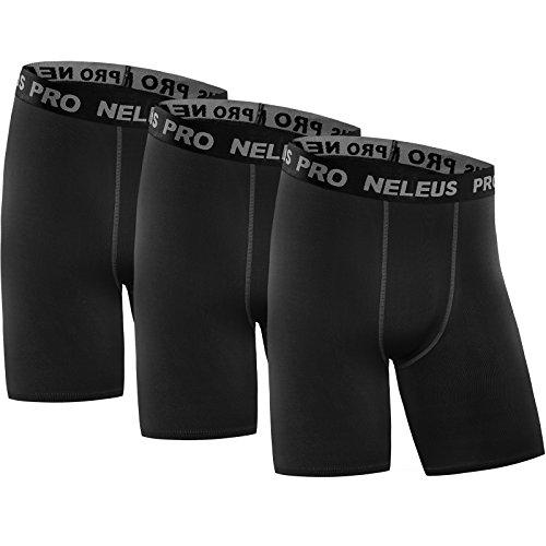 Neleus Mens Performance Compression Shorts product image