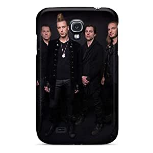 Excellent Hard Phone Covers For Samsung Galaxy S4 (Rfx15259wuTH) Unique Design Realistic Apocalyptica Band Series