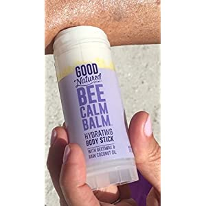 Good Natured Brand THE BEST All-Natural Eco-friendly Bee Calm Balm Super-Hydrating Body Stick