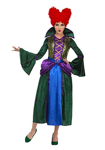 Palamon Hocus Pocus Witch Winifred Adult Costume Large]()