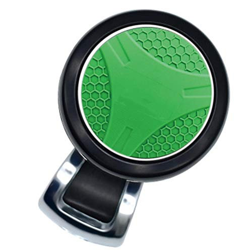 Automobile Universal Steering Wheel Trimmer, Steering Wheel Auxiliary Supercharger 360° Knob Bearing Turning Labor Saving Handle Control Rotator,Green: Amazon.co.uk: Sports & Outdoors