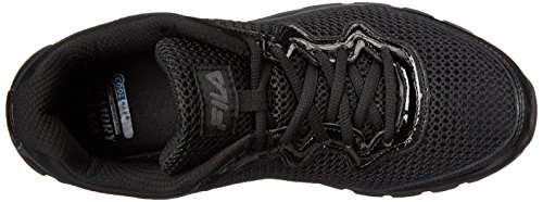 Training SR Shoe Women's Black Silver Memory Black Metallic Fresh Start Fila n1B6qX1