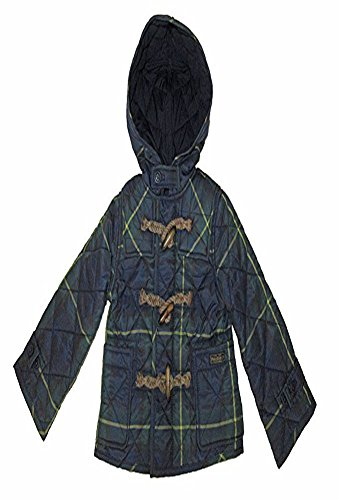 Polo Ralph Lauren Plaid Quilted Lightweight Hooded Jackets Boys Toddler - Ralph Lauren Kids Discount