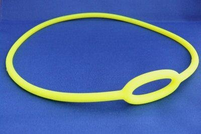 New Silicone Regulator Necklace for Scuba Diving Octopus Regulator - Yellow ( Size Small)
