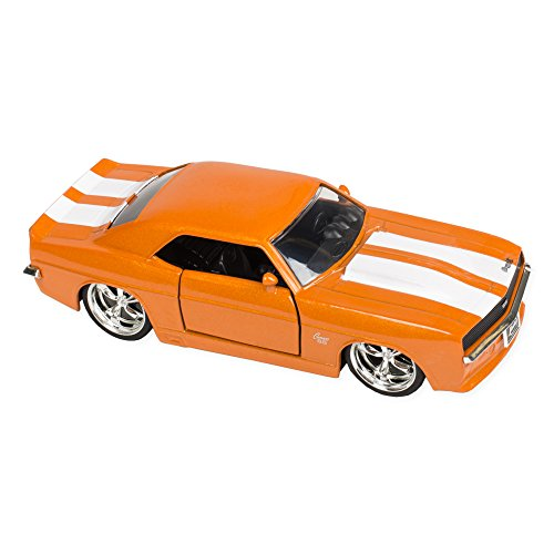 [1969 Chevy Camaro 5.25 Inch Die Cast Replica 1:32 Scale Toy, Orange] (Classic Old Chevy Trucks)