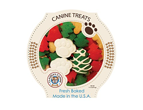 Claudia's Canine Cuisine – Santa Paws Classic Gourmet Dog Cookies For Sale