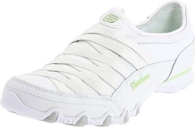 Skechers Bikers Fixation Womens Sneakers White 11