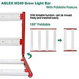 AGLEX M240 LED Grow Light 4x4.5ft Foldable and