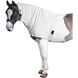Snuggy Hoods Headless Weatherproof Horse Hood / Summer Version / 8 Sizes / With Zipper / Full Mane Protection (M/L)