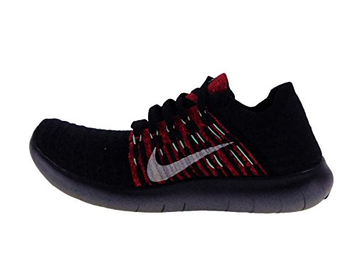 Nike Mens Free Rn Flyknit Scarpe Da Corsa (10,5 D (m) Us, Night Brown / Purple Dynasty / Green Glow)