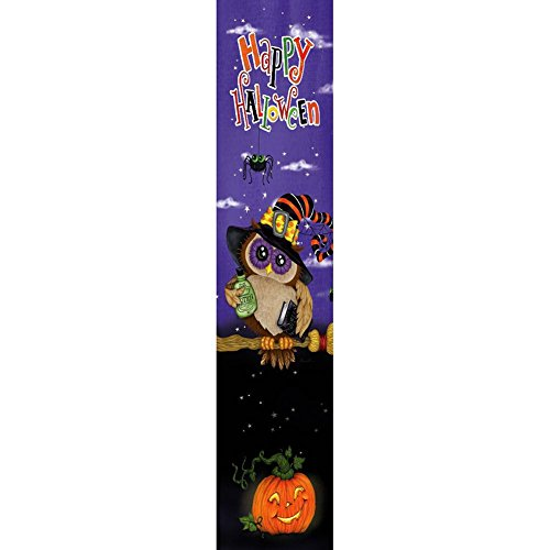 Custom Decor Yard Expression - Halloween Owl - Yard Expression Sign - 6 inch x 30 inch PVC Sign Licensed, Trademarked, Copyright by CDI. Made in The USA! -