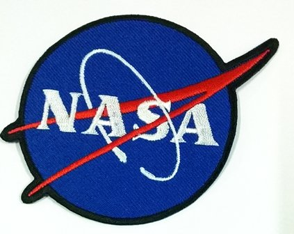 Nasa Space Blue Shuttle Appliques Hat Cap Polo Backpack Clothing Jacket Shirt DIY Embroidered Iron on / Sew On... # with Free Gift Free Shipping to Worldwide By - Swift Taylor Diy Costume