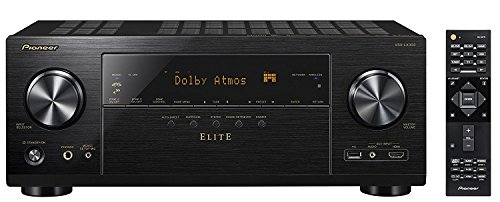 Pioneer VSX-LX303 9.2 Channel 4k UltraHD Network A/V Receiver Black (Best 9.1 Av Receiver)