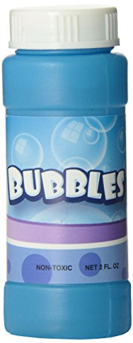 Rhode Island Novelty Bubble Bottles Assortment (12-Pack) - 2 oz