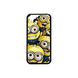 Plastic and TPU Yellow Despicable Minion Case Skin Cover for iPhone 5C