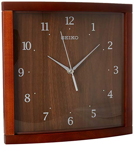 Seiko Wood Wall Clock (Model: QXA675ZLH) -  Seiko Watch Corporation