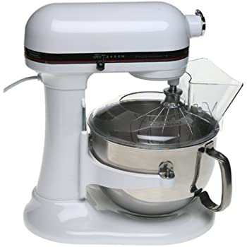 Amazon Com Kitchenaid Kp2671xwh Professional 6 Quart