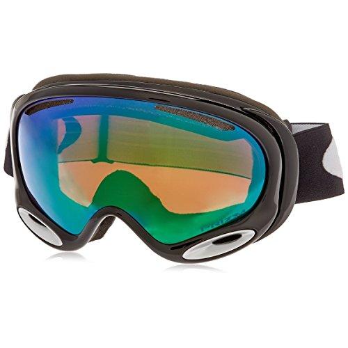 Oakley A-Frame 2.0 Jet Ski Goggles, Black/Prizm Jade (Ski Clothing Skate)