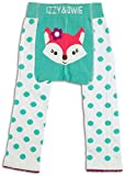 Izzy & Owie Baby Girl Leggings Fox, 12-24 Month Blue