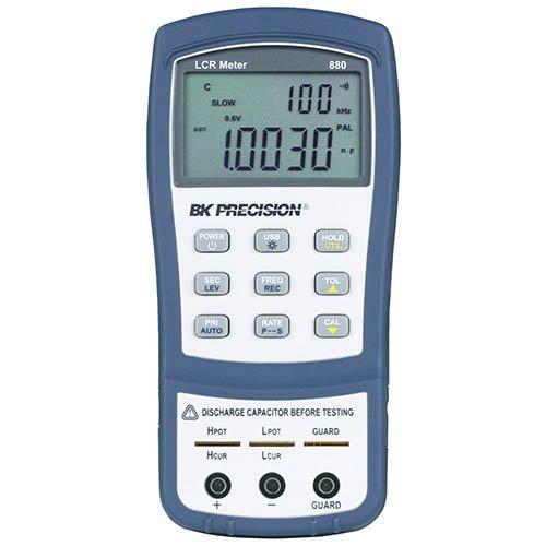 BK Precision 880 Dual Display Handheld LCR Meter, 40,000 Count, 100 kHz ()
