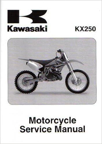 Manual kawasaki kx 250