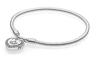 c6bd4a083034 Pandora Pulsera charm Mujer plata - 596586fpc-20  Pandora  Amazon.es   Joyería