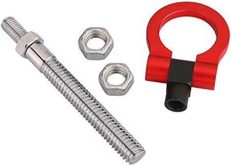 Red MG Pro-industry Heavy Duty Front /& Rear Bumper Screw on Track Racing Tow Hook for Jeep Cherokee 2001-up,Renegarde 2015 Alfa Romeo Spider 1995-2006 up Chrysler PT Cruiser 2000-2010