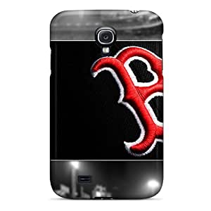 Samsung Galaxy S4 FhO9671yyKA Unique Design Nice Boston Red Sox Skin Shock Absorption Hard Cell-phone Cases -IanJoeyPatricia