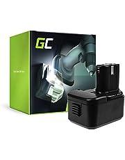 GC® (2 Ah 12 V Ni-MH-celler) batteri för Hitachi WR12DH verktyg reservbatteri