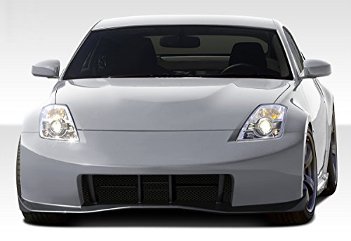 Duraflex ED-ZQS-707 N-3 Front Bumper Cover - 1 Piece Body Kit - Compatible For Nissan 350Z 2003-2008