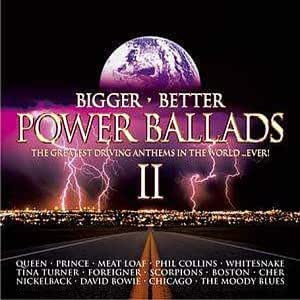 Various Artists Bigger Better Power Ballads Ii Amazon
