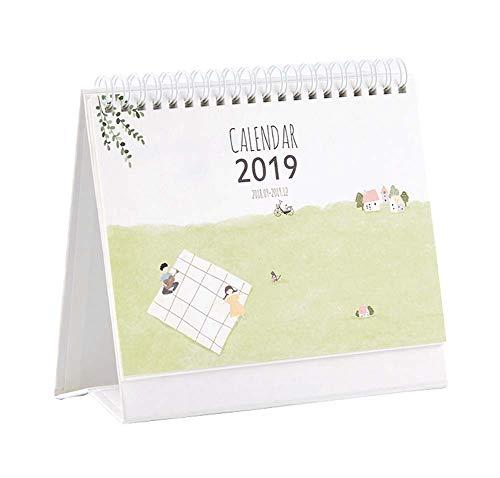 2019 Desk Calendar Chinese Holiday Monthly Desk Calendar Daily Planner, 1 Piece (D)