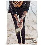 Westlake Art - Dance Road - Fleece Blanket - Picture Photography Soft Fuzzy Home Bedroom Living Room Decor Throw Lightweight Cozy Plush Microfiber Bed Couch - 60x80 Inch (E02D1)