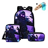 School Bags Fortnite Games Pattern School Backpack for Girls Schoolbag Backpacks for Teenagers Travel Party Favor Bag School Bagpack Back (Colorful)